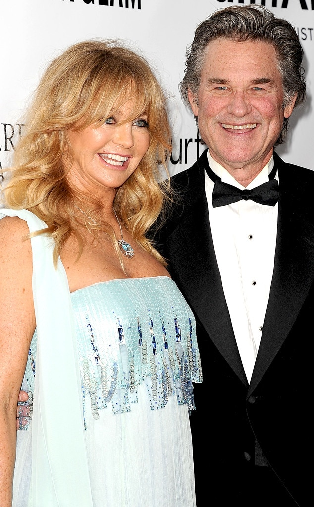 Goldie Hawn, Kurt Russell, Celebrity Couples