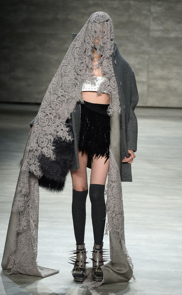 NYFW, Craziest Looks, Lee Jean Youn