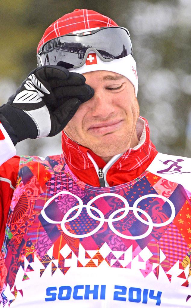 Crying Olympians, Dario Cologna