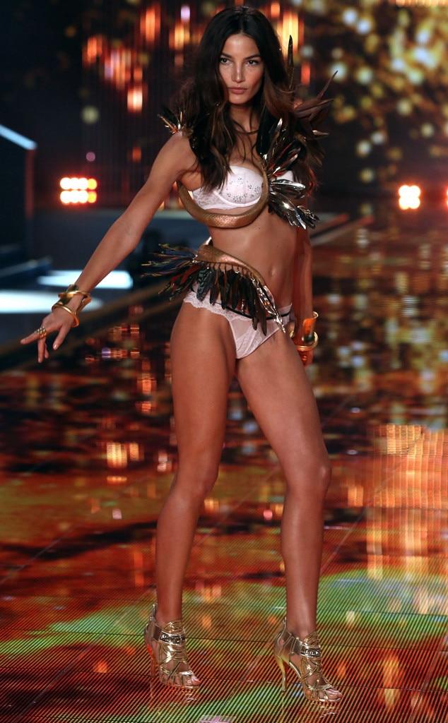 dec63cefa5b Lily Aldridge from 2014 Victoria s Secret Fashion Show