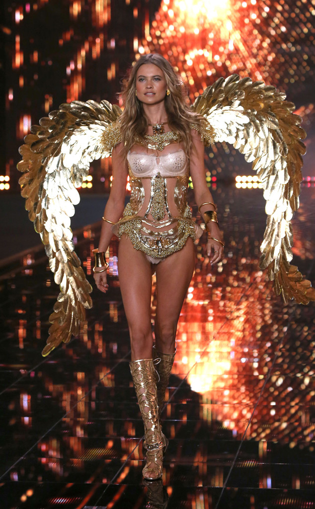 1a31a86bc11 New Mom Behati Prinsloo Hopes to Return to Victoria s Secret Fashion ...