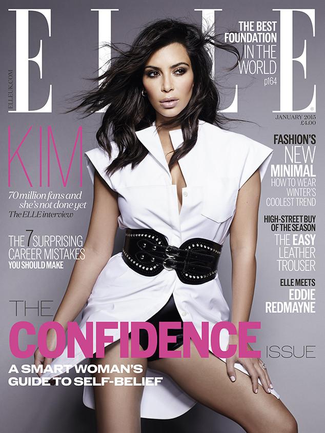 Kim Kardashian, Elle UK
