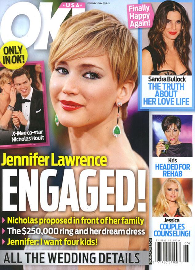 OK! Magazine, Jennifer Lawrence