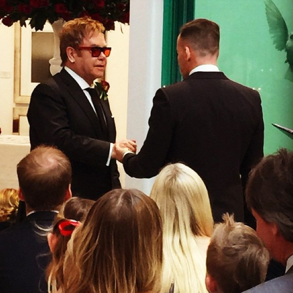 David Furnish, Sir Elton John