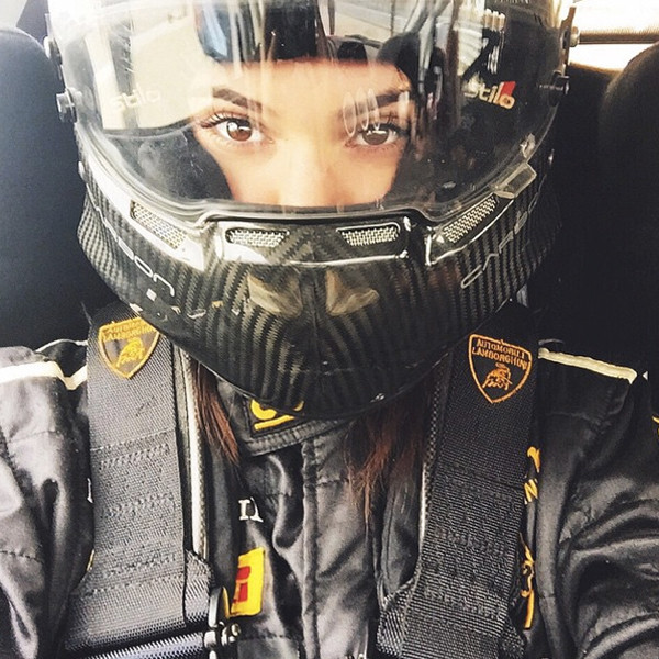 Kendall Jenner Is A Race Car Driver, Thanks To Her Bro—See