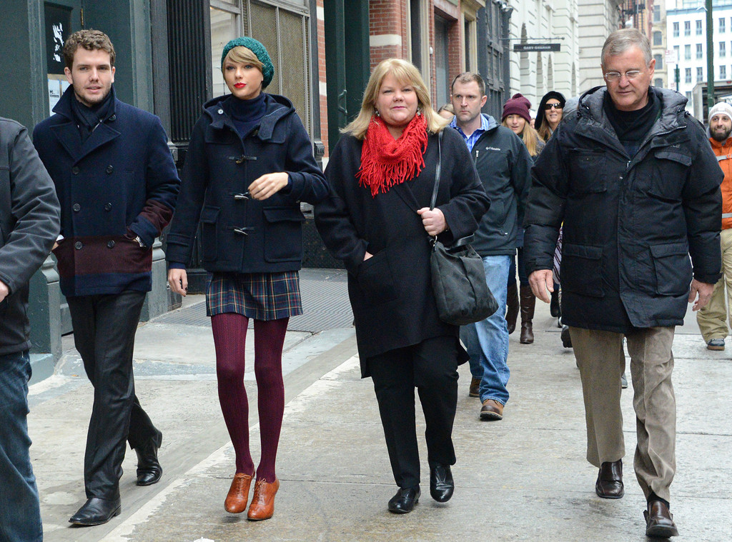 Austin Swift, Taylor Swift, Andrea Finlay, Scott Swift