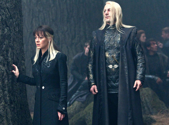 Jason Isaacs, Helen McRory, Harry Potter