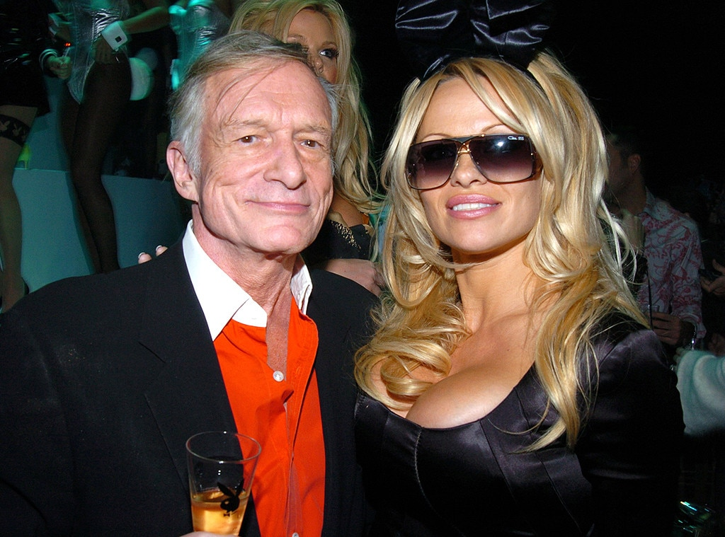 Pamela Anderson From The Most Important Women In Hugh Hefners Life  E News-1230