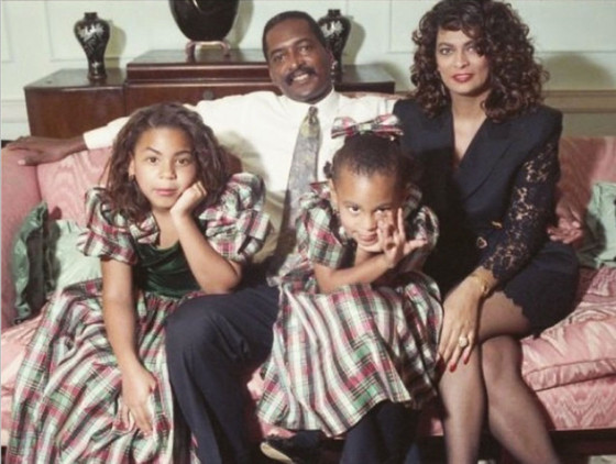 Beyonce, Solange Knowles, Tina Knowles