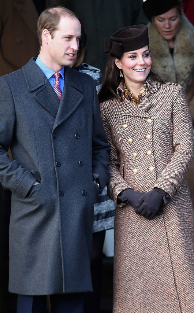 Pregnant Kate Middleton Joins Royal Family at Christmas Church ...