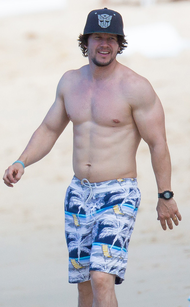 Shirtless Mark Wahlberg Can T Keep His Pants On And No