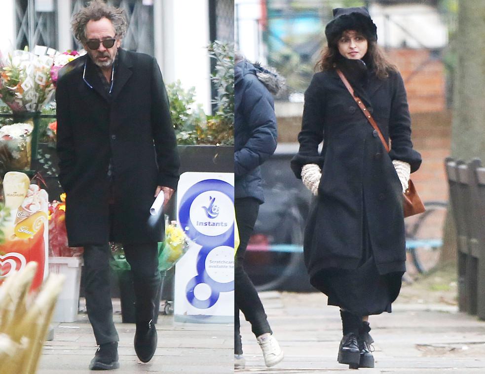 Helena Bonham Carter, Tim Burton