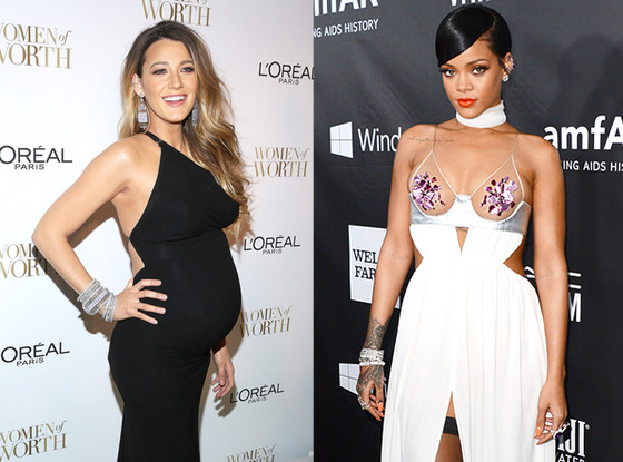 Blake Lively, Rihanna