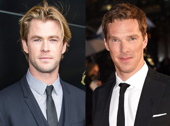 Chris Hemsworth, Benedict Cumberbatch