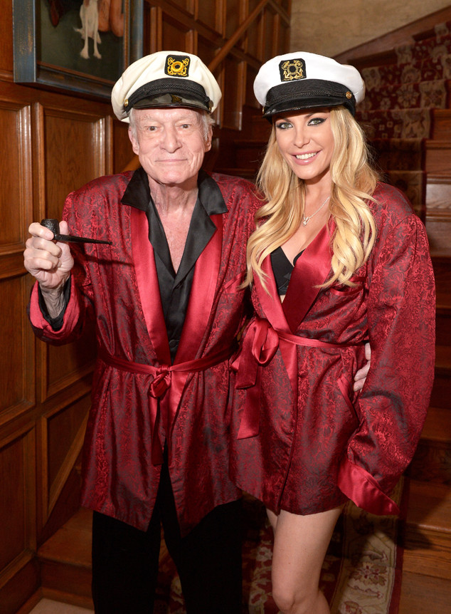 Inside Hugh Hefner And Wife Crystal Harris Unlikely Yet Strangely