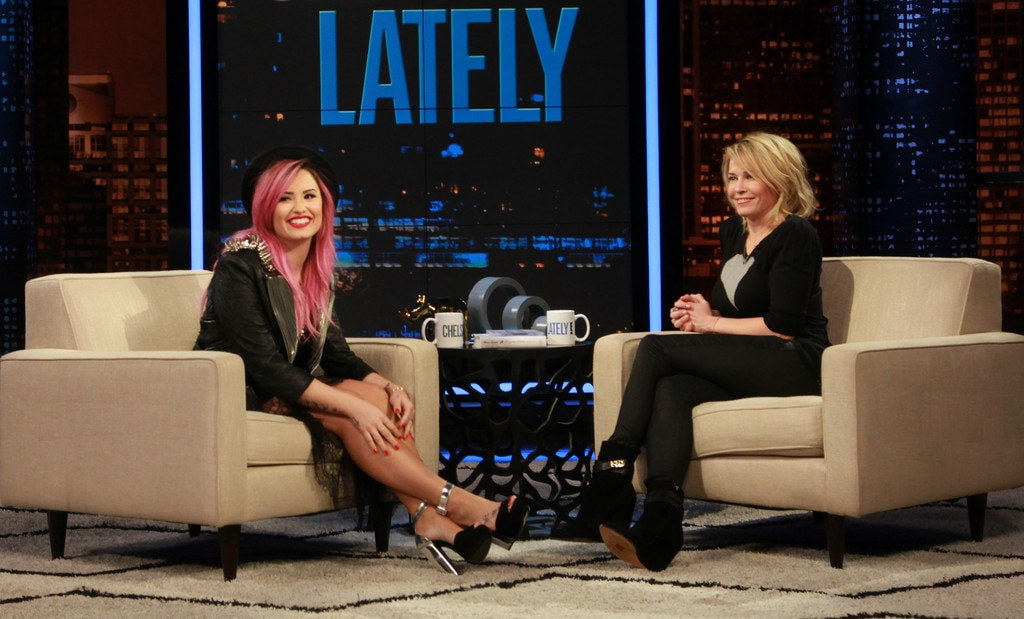 Demi Lovato, Chelsea Lately