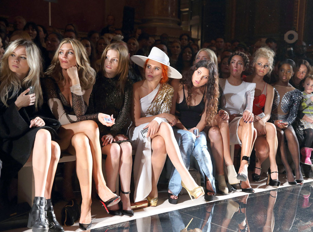 Julien Macdonald, Front Row, London Fashion Week