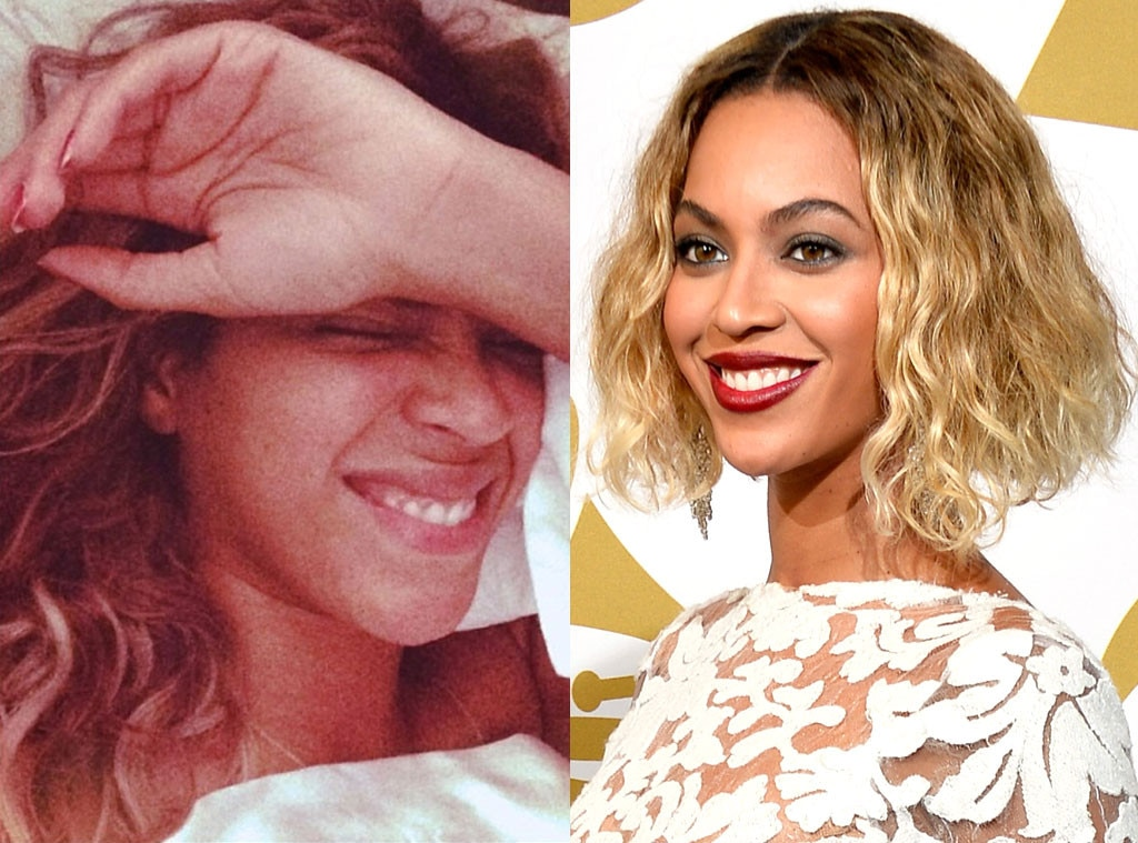 Beyonce, Stars without Makeup