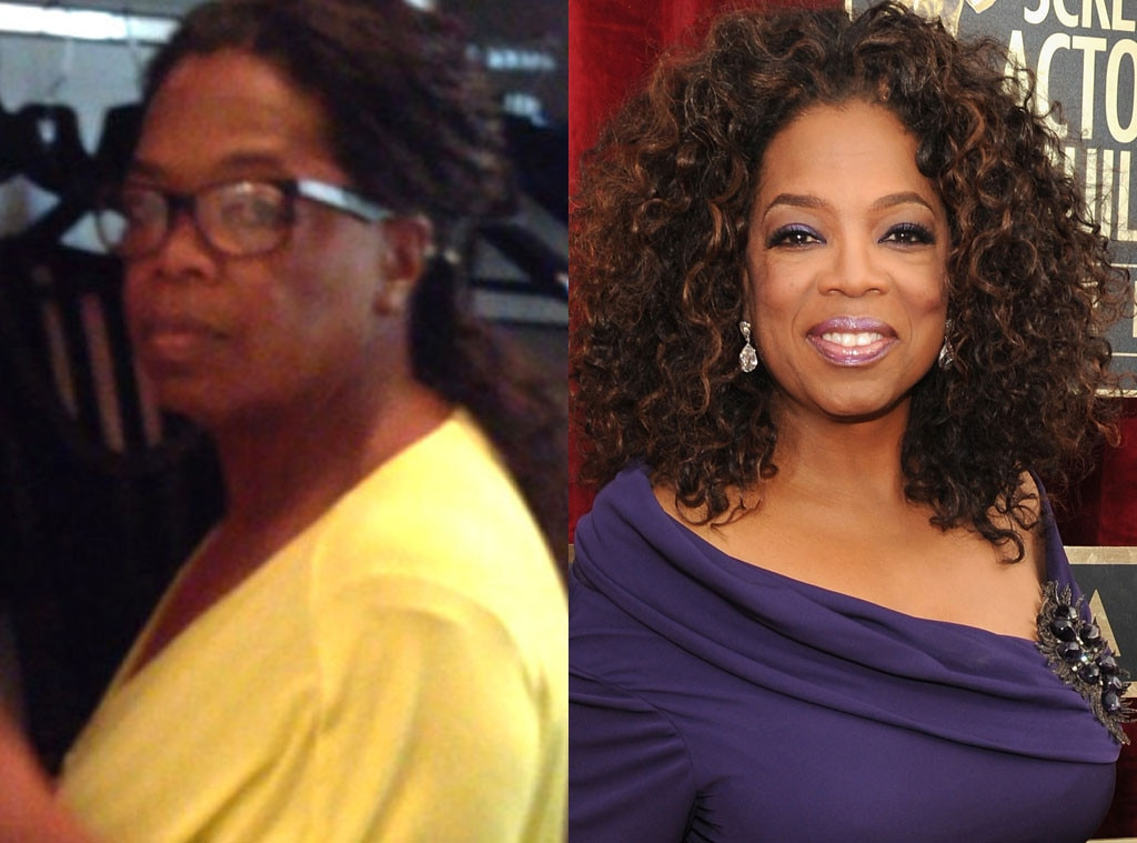 Oprah Winfrey, Stars without Makeup