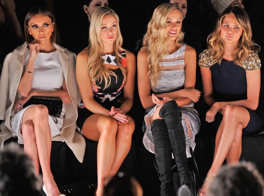 NYFW, Front Row, Giuliana Rancic, Katrina Bowden, Petra Nemcova, Chrissy Teigen