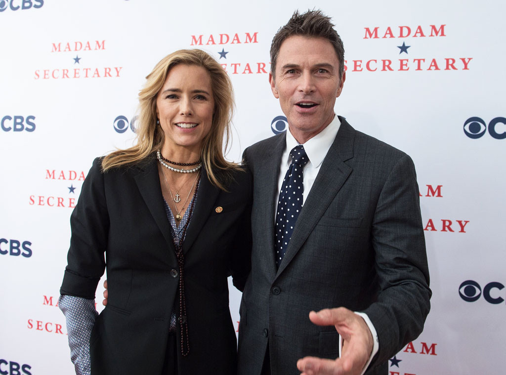 Tea Leoni with Boyfriend Tim Daly