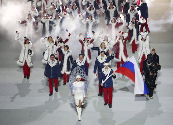 Uniformes Sochi 2014