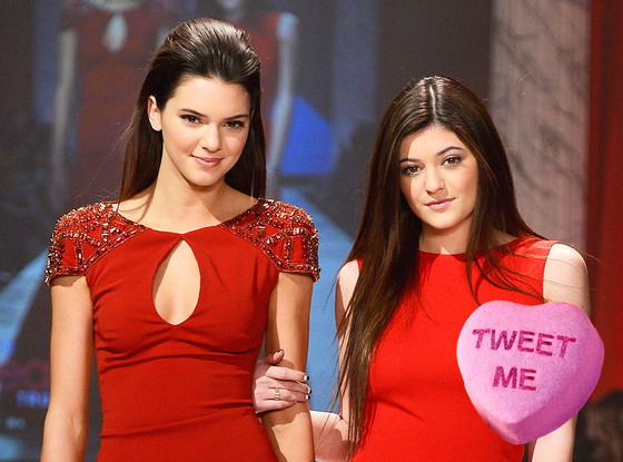 Valentine's Sweetheart Candy, Kendall, Kylie Jenner