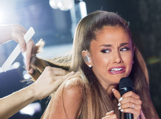 Ariana Grande Face Meme, Haircut