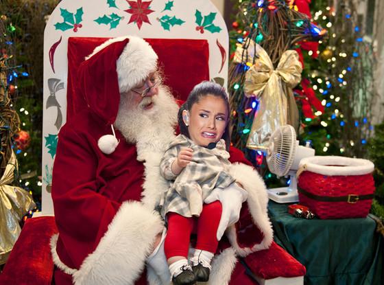Ariana Grande Face Meme, Mall Santa