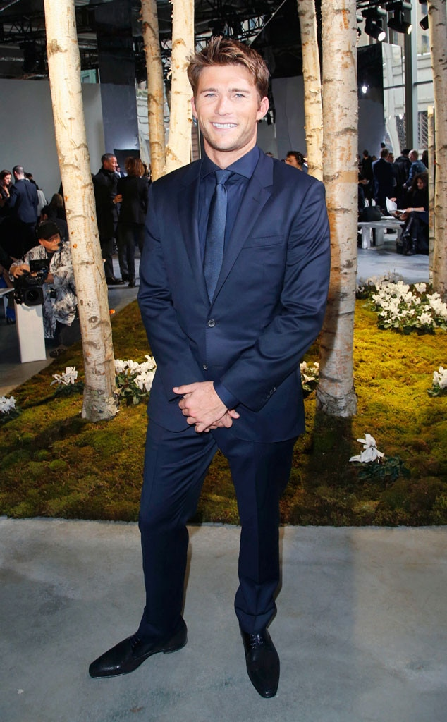 NYFW, Hugo Boss Women, Scott Eastwood