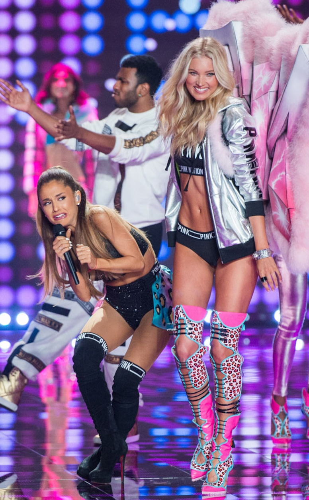 Ariana Grande, Elsa Hosk, Victorias Secret Fashion Show 2014