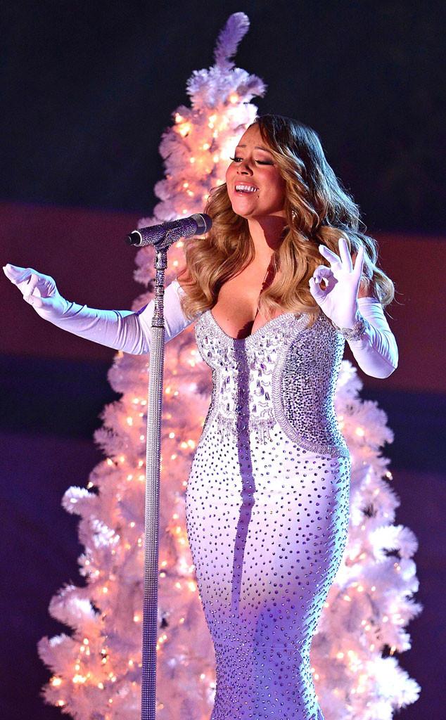 Mariah Carey, Christmas Tree Lighting - Mariah Carey Apologizes For Christmas Tree Lighting Ceremony Drama