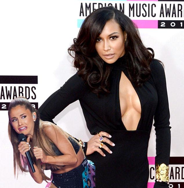 Ariana Grande Face Meme, Naya Rivera
