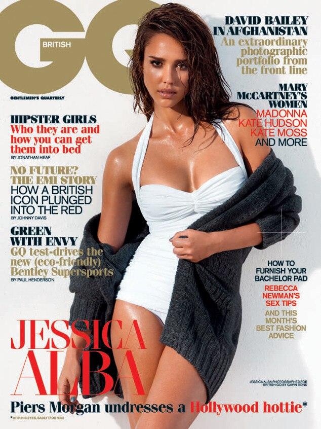 Jessica Alba, British GQ