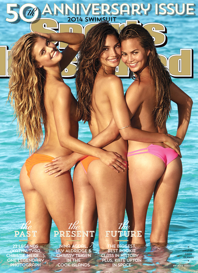 e347ec91e Topless Trio of Nina Agdal