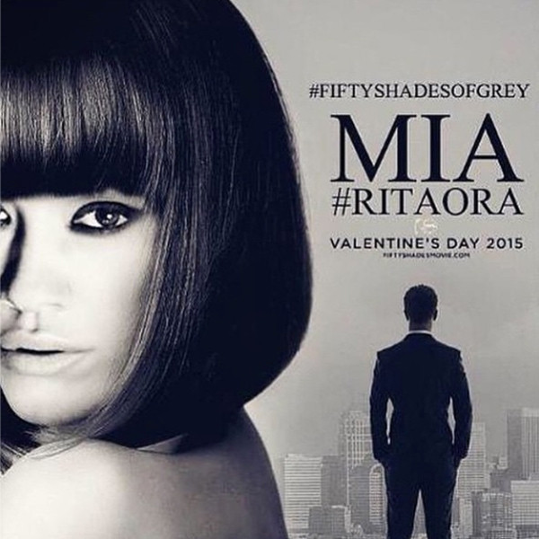 Rita Ora, Mia, Fifty Shades of Grey