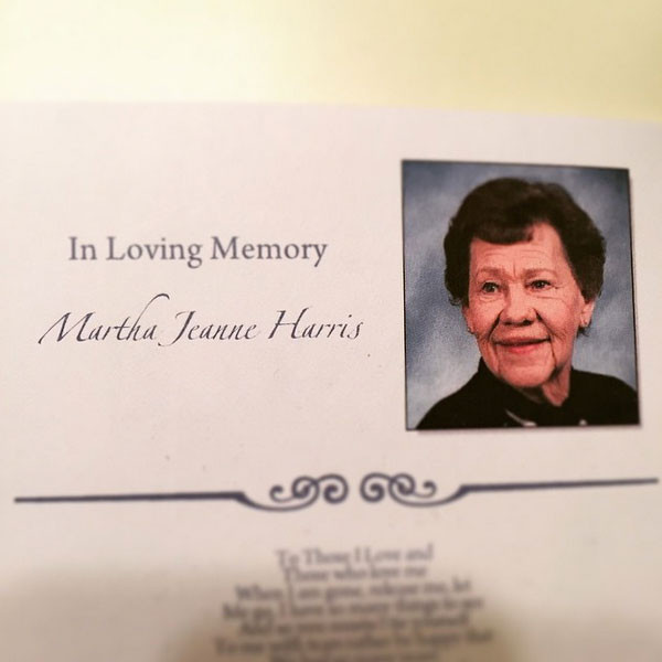 Neil Patrick Harris, Grandmother