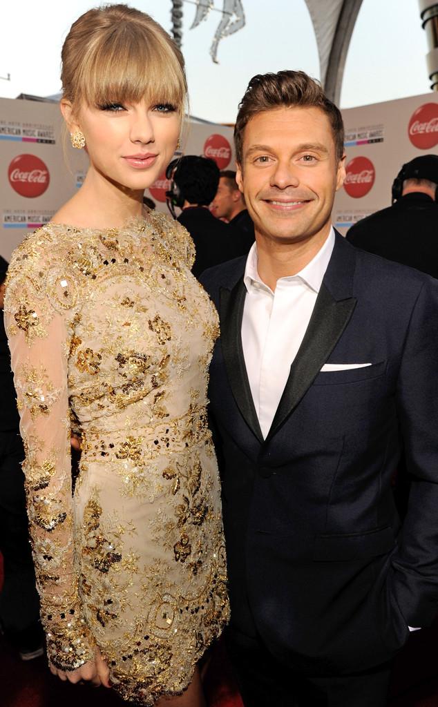 Taylor Swift, Ryan Seacrest