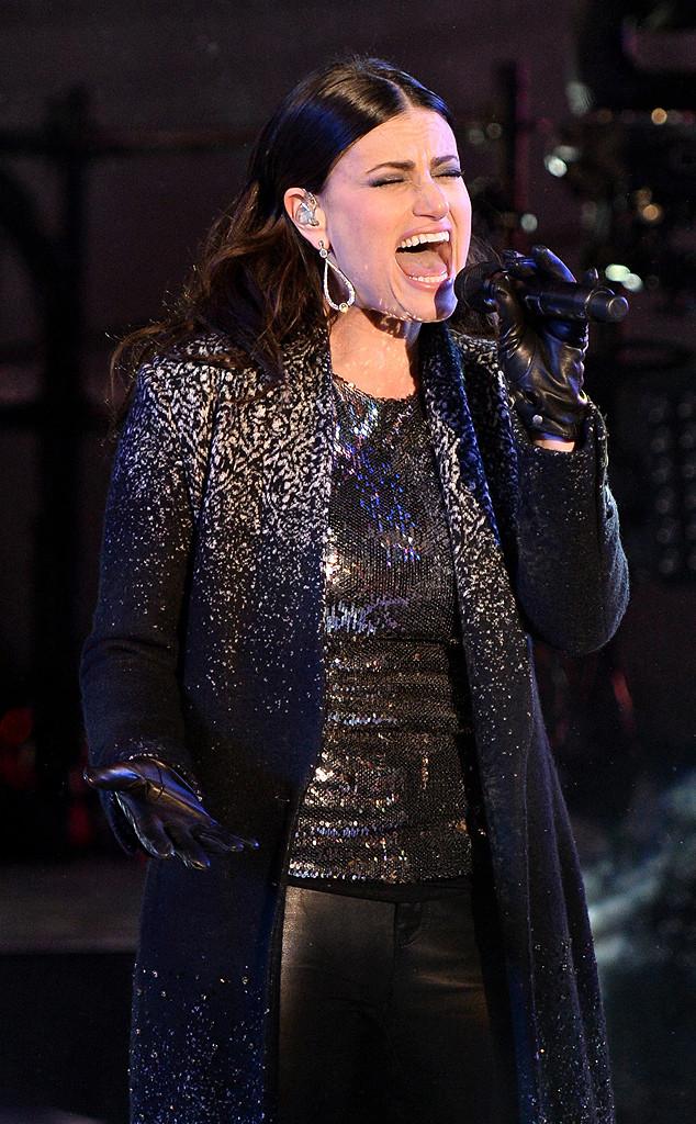 Idina Menzel, New Year's Eve 2015