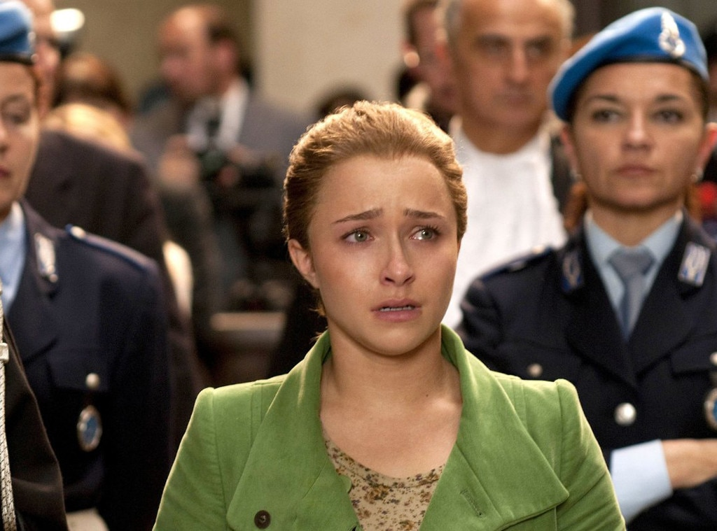 Lifetime Movies, Amanda Knox, Hayden Panettiere, Murder on Trial in Italy, TV Transformations