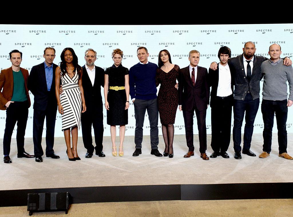 James Bond Cast Announcement