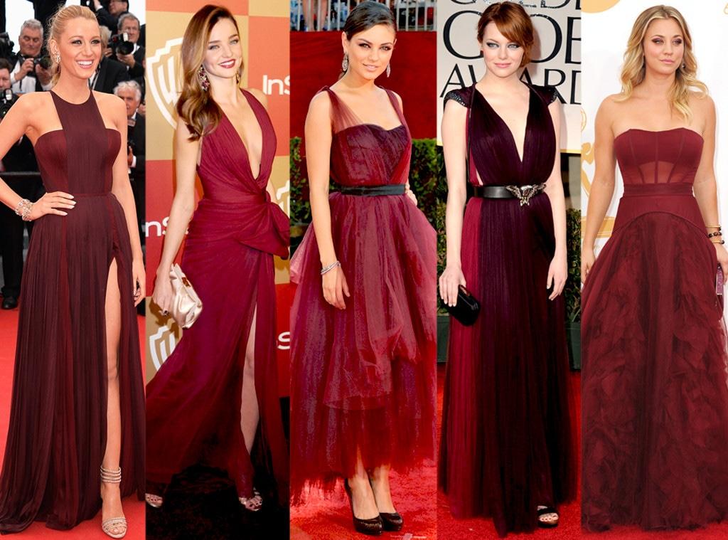 Emma Stone, Blake Lively, Miranda Kerr, Mila Kunis, Kaley Cuoco