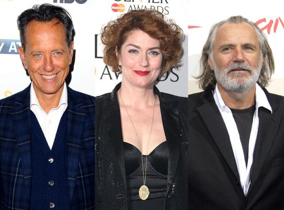 Downton Abbey, Richard. E Grant, Anna Chancellor, Rade Sherbedgia
