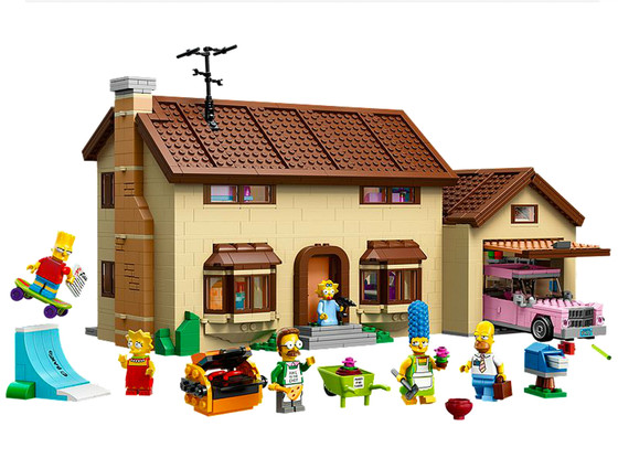 The Simpsons Legos