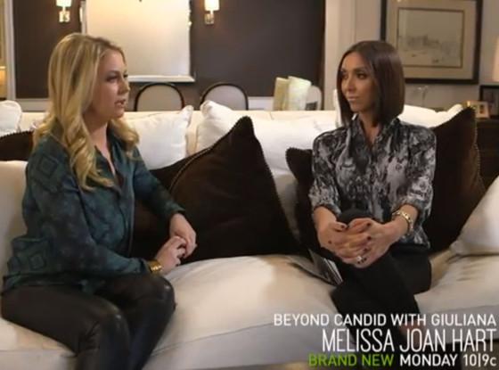 Giuliana Rancic, Melissa Joan Hart