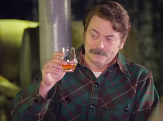 Nick Offerman, Whiskey music video