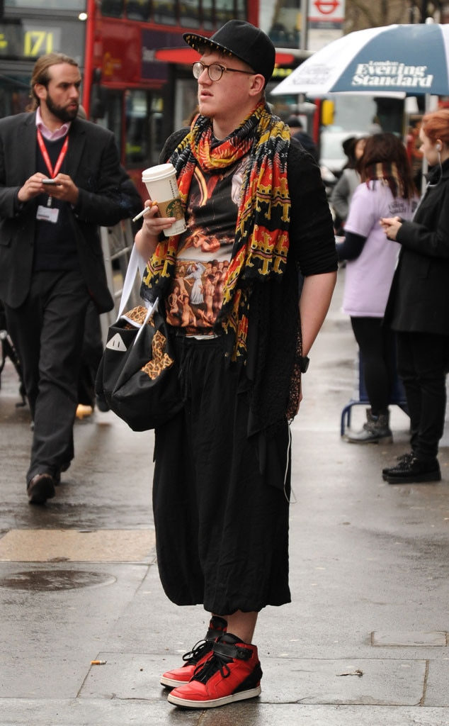 Couture Coffee From London Fashion Week Fall 2014 Street