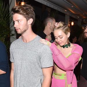 Patrick Schwarzenegger, Miley Cyrus