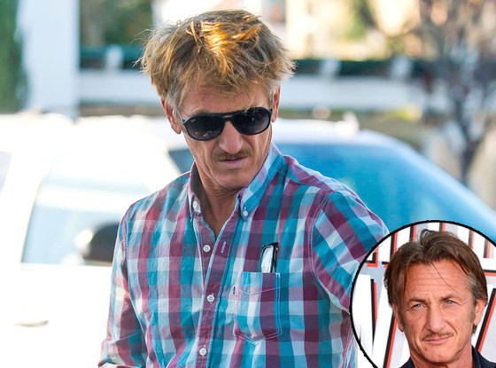 Sean Penn, Hair