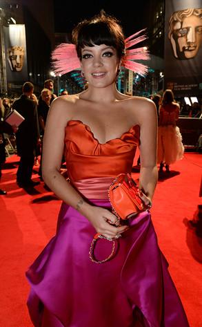 2014 BAFTAs: Lily Allen
